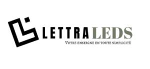 Enseigne lumineuse pour professionnels - Lettraleds