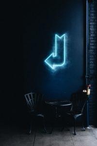 flèche lumineuse restaurant
